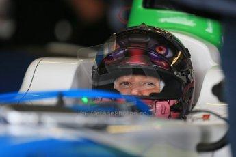 World © Octane Photographic Ltd. FIA Formula E testing – Donington Park 19th August 2014. Spark-Renault SRT_01E. TrulliGP – Michela Cerruti. Digital Ref : 1077LB1D5415