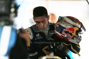 World © Octane Photographic Ltd. FIA Formula E testing – Donington Park 19th August 2014. Spark-Renault SRT_01E. e.dams-Renault - Sebastien Buemi. Digital Ref : 1077LB1D5520