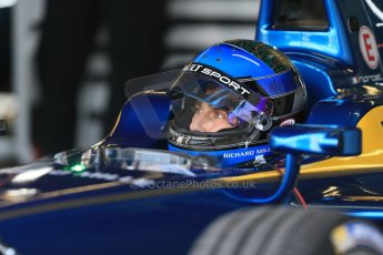 World © Octane Photographic Ltd. FIA Formula E testing – Donington Park 19th August 2014. Spark-Renault SRT_01E. e.dams-Renault – Nicolas Prost. Digital Ref : 1077LB1D5640