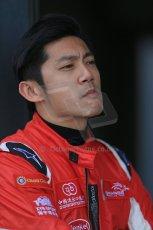 World © Octane Photographic Ltd. FIA Formula E testing – Donington Park 19th August 2014. Spark-Renault SRT_01E. China Racing – Ho Pin Tung. Digital Ref : 1077LB1D5681