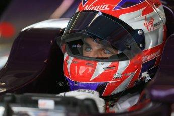 World © Octane Photographic Ltd. FIA Formula E testing – Donington Park 19th August 2014. Spark-Renault SRT_01E. Virgin Racing - Jamie Alguersuari. Digital Ref : 1077LB1D5739