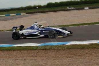 World © Octane Photographic Ltd. Donington Park test, Thursday 17th April 2014. Dunlop MSA Formula Ford Championship of Great Britain. JTR - Sam Brabham - Mygale M12-SJ/Mountune. Digital Ref : 0905lb1d0416