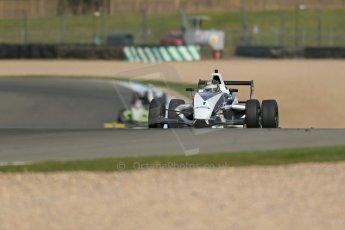 World © Octane Photographic Ltd. Donington Park test, Thursday 17th April 2014. Dunlop MSA Formula Ford Championship of Great Britain. JTR - Sam Brabham - Mygale M12-SJ/Mountune. Digital Ref : 0905lb1d4210