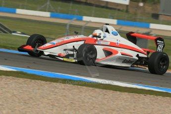 World © Octane Photographic Ltd. Donington Park test, Thursday 17th April 2014. Dunlop MSA Formula Ford Championship of Great Britain. Radical Motorsport - Juan Rosso - Mygale M12-SJ/Mountune. Digital Ref : 0905lb1d4405