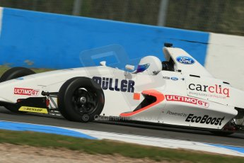 World © Octane Photographic Ltd. Donington Park test, Thursday 17th April 2014. Dunlop MSA Formula Ford Championship of Great Britain. SWB - James Webb – Sinter LA12/Scholar. Digital Ref : 0905lb1d4486