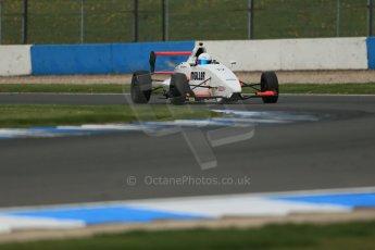 World © Octane Photographic Ltd. Donington Park test, Thursday 17th April 2014. Dunlop MSA Formula Ford Championship of Great Britain. SWB - James Webb – Sinter LA12/Scholar. Digital Ref : 0905lb1d4517