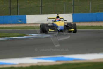 World © Octane Photographic Ltd. Donington Park test, Thursday 17th April 2014. Dunlop MSA Formula Ford Championship of Great Britain. Falcon Motorsport - Ricky Collard - Mygale M12-SJ/Swindon. Digital Ref : 0905lb1d4537