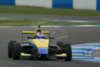 World © Octane Photographic Ltd. Donington Park test, Thursday 17th April 2014. Dunlop MSA Formula Ford Championship of Great Britain. Falcon Motorsport - Ricky Collard - Mygale M12-SJ/Swindon. Digital Ref : 0905lb1d4795