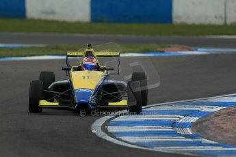World © Octane Photographic Ltd. Donington Park test, Thursday 17th April 2014. Dunlop MSA Formula Ford Championship of Great Britain. Falcon Motorsport - Ricky Collard - Mygale M12-SJ/Swindon. Digital Ref : 0905lb1d4867
