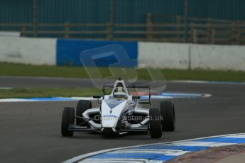 World © Octane Photographic Ltd. Donington Park test, Thursday 17th April 2014. Dunlop MSA Formula Ford Championship of Great Britain. JTR - Sam Brabham - Mygale M12-SJ/Mountune. Digital Ref : 0905lb1d4875