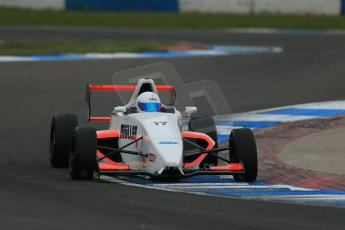 World © Octane Photographic Ltd. Donington Park test, Thursday 17th April 2014. Dunlop MSA Formula Ford Championship of Great Britain. SWB - James Webb – Sinter LA12/Scholar. Digital Ref : 0905lb1d4922