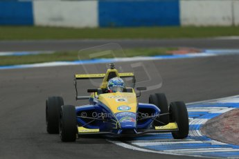 World © Octane Photographic Ltd. Donington Park test, Thursday 17th April 2014. Dunlop MSA Formula Ford Championship of Great Britain. Falcon Motorsport - Harrison Scott - Mygale M12-SJ/Swindon. Digital Ref : 0905lb1d4928