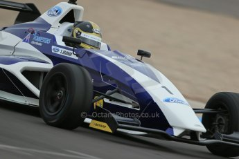 World © Octane Photographic Ltd. Donington Park test, Thursday 17th April 2014. Dunlop MSA Formula Ford Championship of Great Britain. JTR - Sam Brabham - Mygale M12-SJ/Mountune. Digital Ref : 0905lb1d4994