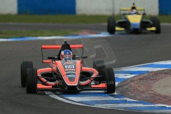 World © Octane Photographic Ltd. Donington Park test, Thursday 17th April 2014. Dunlop MSA Formula Ford Championship of Great Britain. Radical Motorsport - James Abbott - Mygale M12-SJ/Mountune. Digital Ref : 0905lb1d5078