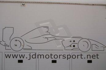 World © Octane Photographic Ltd. Eurocup Formula Renault 2.0 Championship testing. Jerez de la Frontera, Thursday 27th March 2014. JD Motorsport logo. Digital Ref :  0900cb1d7366
