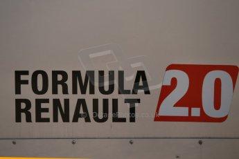 World © Octane Photographic Ltd. Eurocup Formula Renault 2.0 Championship testing. Jerez de la Frontera, Thursday 27th March 2014. Formula Renault 2.0 logo. Digital Ref :  0900cb1d7368
