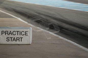 World © Octane Photographic Ltd. Eurocup Formula Renault 2.0 Championship testing. Jerez de la Frontera, Thursday 27th March 2014. Practice start area. Digital Ref :  0900cb1d7370
