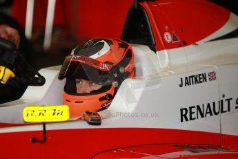 World © Octane Photographic Ltd. Eurocup Formula Renault 2.0 Championship testing. Jerez de la Frontera, Thursday 27th March 2014. Fortec Motorsports – Jack Aitken. Digital Ref :  0900cb1d7377