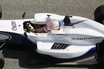 World © Octane Photographic Ltd. Eurocup Formula Renault 2.0 Championship testing. Jerez de la Frontera, Thursday 27th March 2014. JD Motorsport – Denis Korneev. Digital Ref :  0900cb1d7668