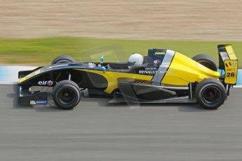 World © Octane Photographic Ltd. Eurocup Formula Renault 2.0 Championship testing. Jerez de la Frontera, Thursday 27th March 2014. Arta Engineering – James Allen. Digital Ref :  0900cb1d7708