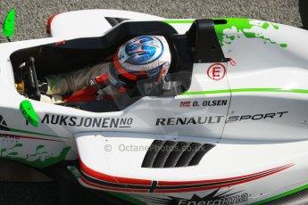 World © Octane Photographic Ltd. Eurocup Formula Renault 2.0 Championship testing. Jerez de la Frontera, Thursday 27th March 2014. Prema Powerteam – Dennis Olsen. Digital Ref :  0900cb1d7763
