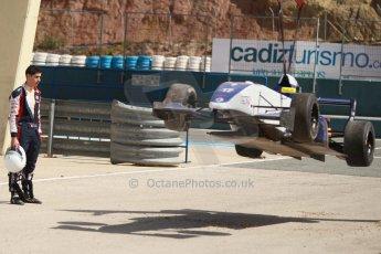 World © Octane Photographic Ltd. Eurocup Formula Renault 2.0 Championship testing. Jerez de la Frontera, Thursday 27th March 2014. Koiranen GP – Nicholas Surguladze. Digital Ref :  0900cb1d7792