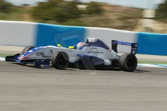 World © Octane Photographic Ltd. Eurocup Formula Renault 2.0 Championship testing. Jerez de la Frontera, Thursday 27th March 2014. Koiranen GP – George Russell. Digital Ref :  0900cb1d7840