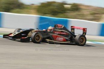 World © Octane Photographic Ltd. Eurocup Formula Renault 2.0 Championship testing. Jerez de la Frontera, Thursday 27th March 2014. ART Junior Team – Callan O'Keeffe. Digital Ref :  0900cb1d7848