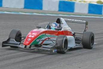 World © Octane Photographic Ltd. Eurocup Formula Renault 2.0 Championship testing. Jerez de la Frontera, Thursday 27th March 2014. Prema Powerteam – Andrew Tang. Digital Ref :  0900cb1d7950