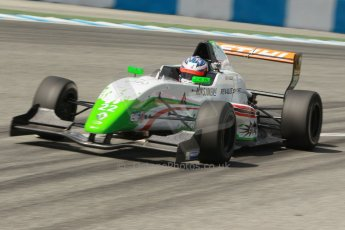 World © Octane Photographic Ltd. Eurocup Formula Renault 2.0 Championship testing. Jerez de la Frontera, Thursday 27th March 2014. Prema Powerteam – Dennis Olsen. Digital Ref :  0900cb1d7959