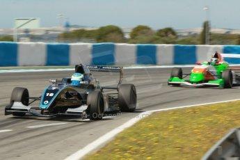 World © Octane Photographic Ltd. Eurocup Formula Renault 2.0 Championship testing. Jerez de la Frontera, Thursday 27th March 2014. Josef Kaufmann Racing – Ryan Tveter. Digital Ref :  0900cb1d7963