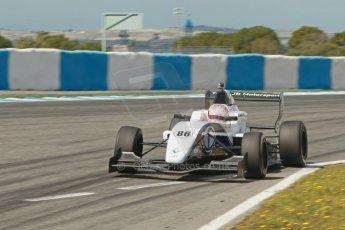 World © Octane Photographic Ltd. Eurocup Formula Renault 2.0 Championship testing. Jerez de la Frontera, Thursday 27th March 2014. JD Motorsport – Denis Korneev. Digital Ref :  0900cb1d7966