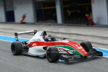 World © Octane Photographic Ltd. Eurocup Formula Renault 2.0 Championship testing. Jerez de la Frontera, Thursday 27th March 2014. Prema Powerteam – Alex Bosak. Digital Ref :  0900cb1d7976