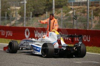 World © Octane Photographic Ltd. Eurocup Formula Renault 2.0 Championship testing. Jerez de la Frontera, Thursday 27th March 2014. Tech 1 Racing – Anthoine Hubert. Digital Ref :  0900cb1d8026