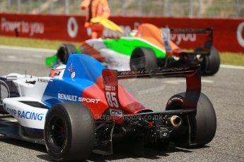 World © Octane Photographic Ltd. Eurocup Formula Renault 2.0 Championship testing. Jerez de la Frontera, Thursday 27th March 2014. JD Motorsport – Metevos Isaakyan and Manor MP Motorsports – Andrea Pizzitola. Digital Ref :  0900cb1d8104