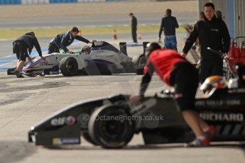World © Octane Photographic Ltd. Eurocup Formula Renault 2.0 Championship testing. Jerez de la Frontera, Thursday 27th March 2014. Fortec Motorsports – Charles Leclerc. Digital Ref :  0900cb7d8287