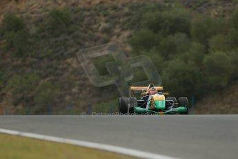 World © Octane Photographic Ltd. Eurocup Formula Renault 2.0 Championship testing. Jerez de la Frontera, Thursday 27th March 2014. Manor MP Motorsports – Steijn Schothorst. Digital Ref :  0900lb1d0019