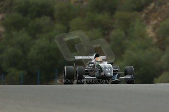 World © Octane Photographic Ltd. Eurocup Formula Renault 2.0 Championship testing. Jerez de la Frontera, Thursday 27th March 2014. Fortec Motorsports – Charles Leclerc. Digital Ref :  0900lb1d0134