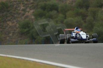 World © Octane Photographic Ltd. Eurocup Formula Renault 2.0 Championship testing. Jerez de la Frontera, Thursday 27th March 2014. JD Motorsport – Metevos Isaakyan. Digital Ref :  0900lb1d0170