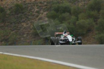 World © Octane Photographic Ltd. Eurocup Formula Renault 2.0 Championship testing. Jerez de la Frontera, Thursday 27th March 2014. Tech 1 Racing – Egor Orudzhev. Digital Ref :  0900lb1d0221