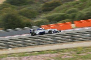 World © Octane Photographic Ltd. Eurocup Formula Renault 2.0 Championship testing. Jerez de la Frontera, Thursday 27th March 2014. Koiranen GP – Nicholas Surguladze. Digital Ref :  0900lb1d0461