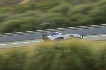 World © Octane Photographic Ltd. Eurocup Formula Renault 2.0 Championship testing. Jerez de la Frontera, Thursday 27th March 2014. Koiranen GP – Nicholas Surguladze. Digital Ref :  0900lb1d0464
