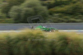World © Octane Photographic Ltd. Eurocup Formula Renault 2.0 Championship testing. Jerez de la Frontera, Thursday 27th March 2014. Fortec Motorsports – Matt (Matthew) Parry. Digital Ref :  0900lb1d0539