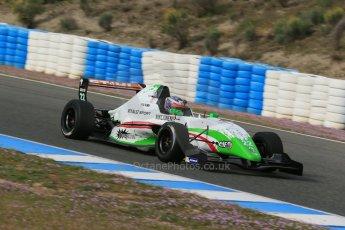 World © Octane Photographic Ltd. Eurocup Formula Renault 2.0 Championship testing. Jerez de la Frontera, Thursday 27th March 2014. Prema Powerteam – Dennis Olsen. Digital Ref :  0900lb1d0679