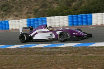 World © Octane Photographic Ltd. Eurocup Formula Renault 2.0 Championship testing. Jerez de la Frontera, Thursday 27th March 2014. China BRT by JCS. – Nick Cassidy Digital Ref :  0900lb1d0719
