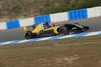 World © Octane Photographic Ltd. Eurocup Formula Renault 2.0 Championship testing. Jerez de la Frontera, Thursday 27th March 2014. Arta Engineering – Simon Gachet. Digital Ref :  0900lb1d0756