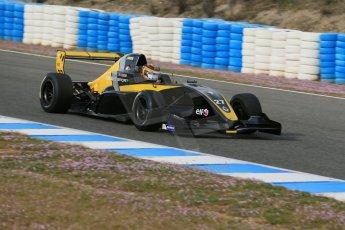 World © Octane Photographic Ltd. Eurocup Formula Renault 2.0 Championship testing. Jerez de la Frontera, Thursday 27th March 2014. Arta Engineering – Darius Oskoui. Digital Ref :  0900lb1d0853