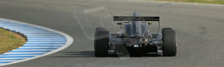 World © Octane Photographic Ltd. Eurocup Formula Renault 2.0 Championship testing. Jerez de la Frontera, Thursday 27th March 2014. KTR – Jules Gounon. Digital Ref : 0900lb1d0995