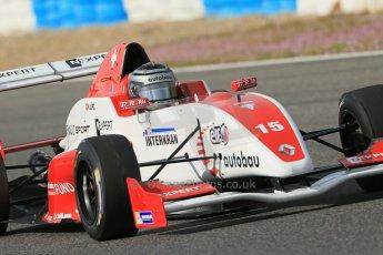 World © Octane Photographic Ltd. Eurocup Formula Renault 2.0 Championship testing. Jerez de la Frontera, Thursday 27th March 2014. Josef Kaufmann Racing – Kevin Joerg. Digital Ref : 0900lb1d1043