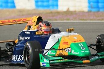 World © Octane Photographic Ltd. Eurocup Formula Renault 2.0 Championship testing. Jerez de la Frontera, Thursday 27th March 2014. Manor MP Motorsports – Steijn Schothorst. Digital Ref :  0900lb1d1054